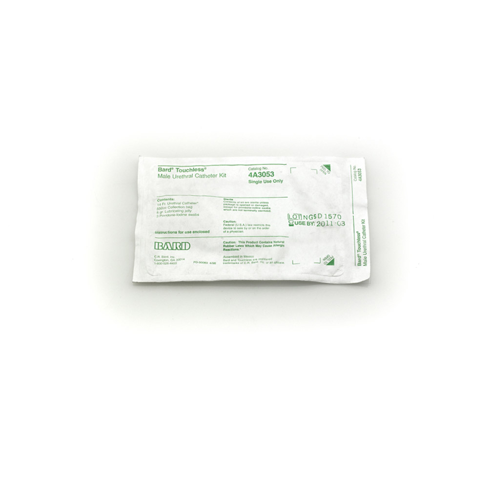 Touchless 174 Intermittent Catheter Kit Sterile