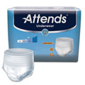 Attends Adult Extra Absorbency Protective Underwear X-Large 58